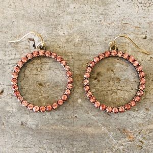 ♥️ BaubleBar ♥️ Sugar Fix Pink Diamond Earrings
